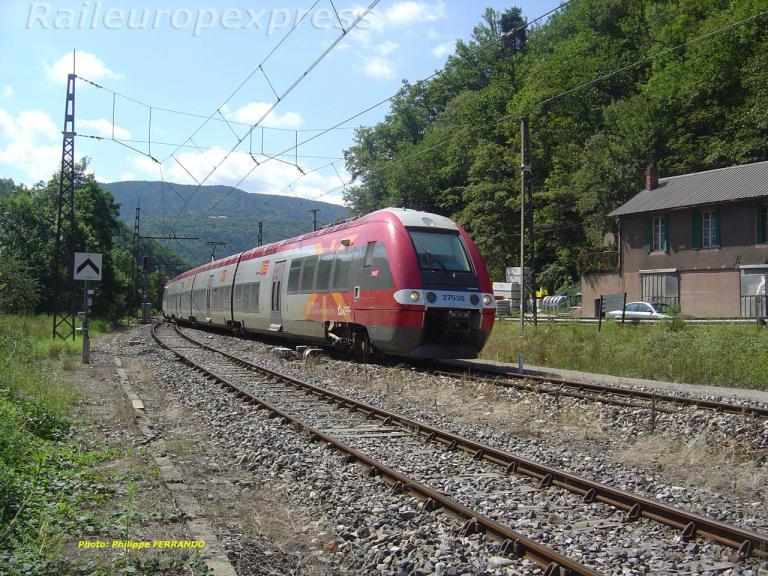 Z 27536 à Banassac la Canourgue