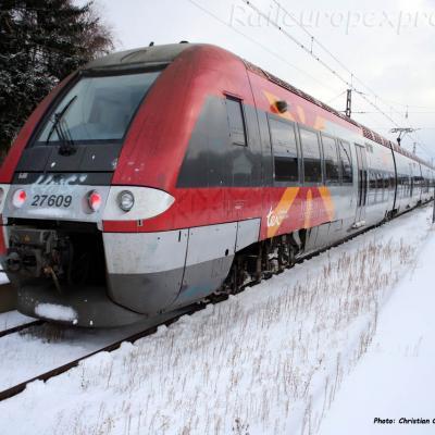 Z 27609 SNCF à St Chély d'Apcher (F-48)