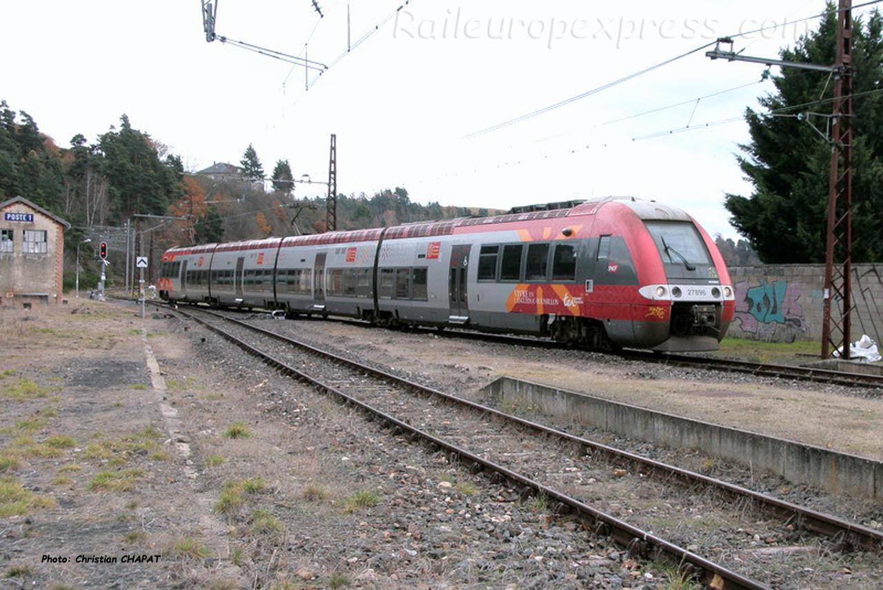 Z 27695 SNCF à Saint Flour (F-15)