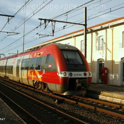 Z 27866 SNCF à Rivesaltes (F-66)