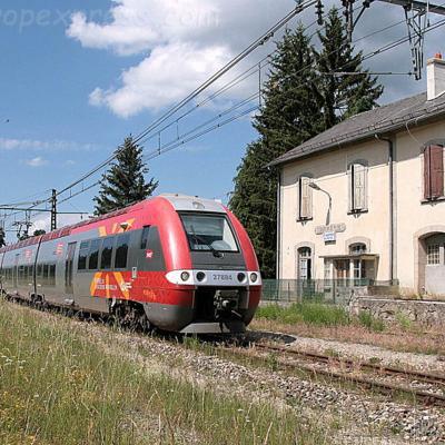 Z 27884 SNCF à Saint Sauveur de Peyre (F-48)