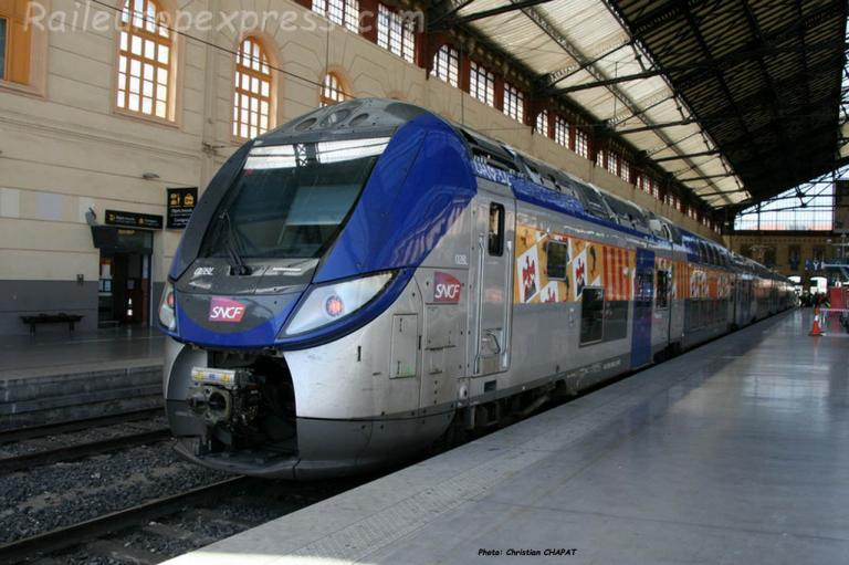 Z 55500 SNCF à Marseille Saint Charles (F-13)