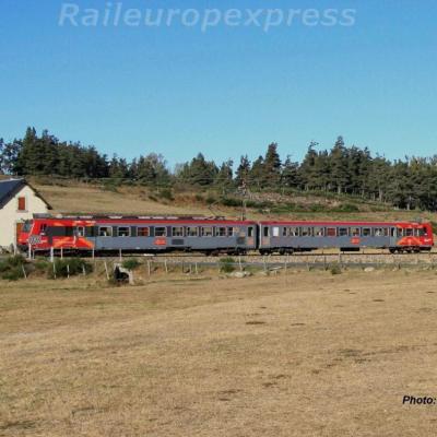 Z 7300 près d'Aumont-Aubrac