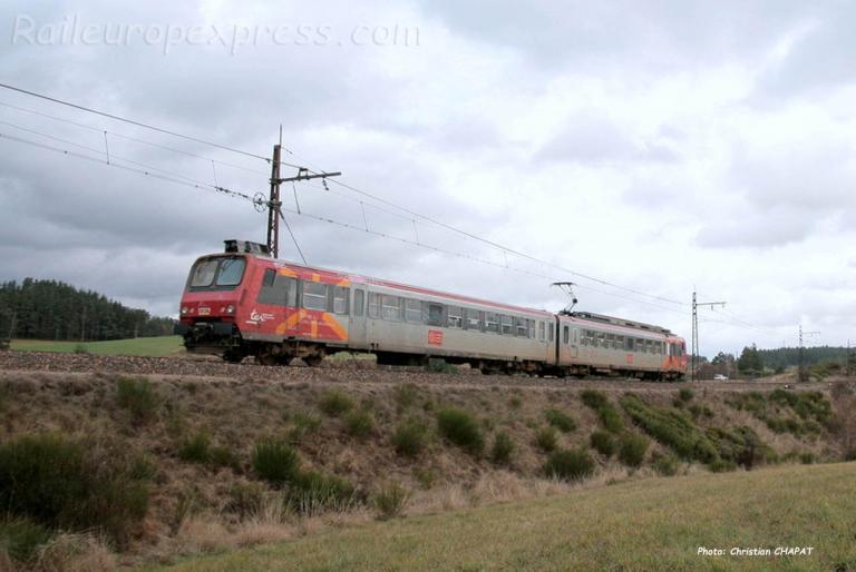 Z 7300 SNCF près de St Chély d'Apcher (F-48)