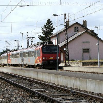 Z 7312 SNCF à Aumont-Aubrac (F-48)