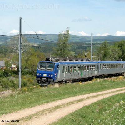 Z 7343 SNCF à Ruynes en Margeride (F-15)