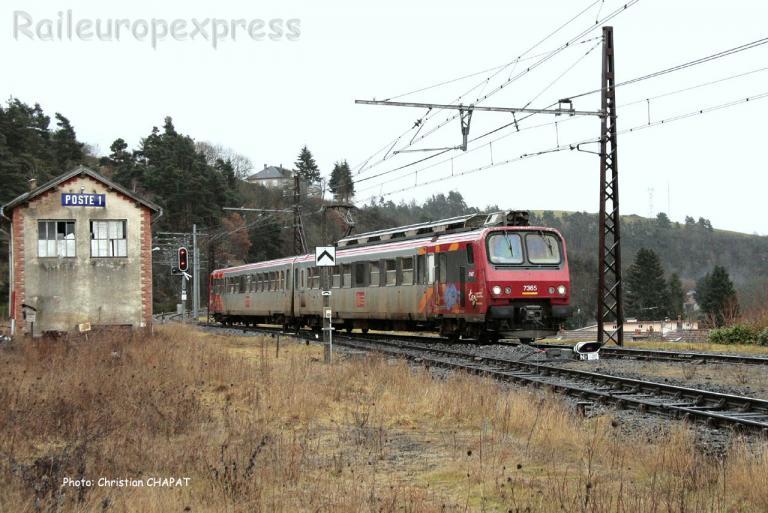 Z 7365 SNCF à Saint Flour (F-15)