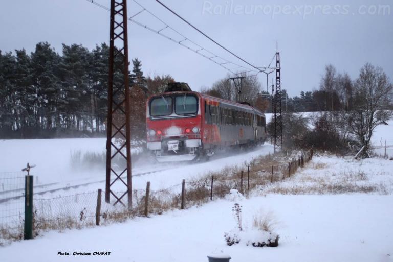 Z 7383 SNCF près de Garabit (F-15)