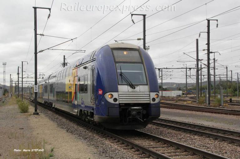 Z TER SNCF à Bettembourg (L)