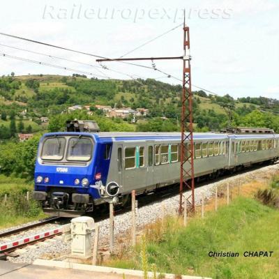 Z2 Rhône Alpes près de Saint Flour