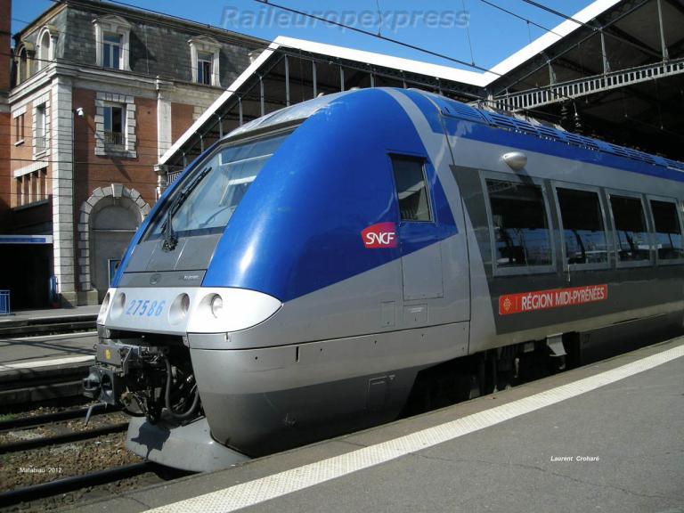 ZGC 27586 SNCF à Toulouse